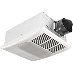 Delta BreezRadiance RAD80L 80 CFM Exhaust Bath Fan/CFL Light and Heater