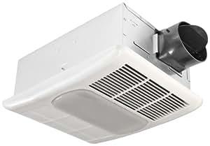 Delta BreezRadiance RAD80L 80 CFM Exhaust Bath Fan/CFL Light and Heater