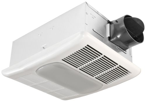 outlet Broan Manufacturing 665RP Ventilation Fan with Heater and Light 70 Cfm 4.0 Sone 100 Watt Maximum