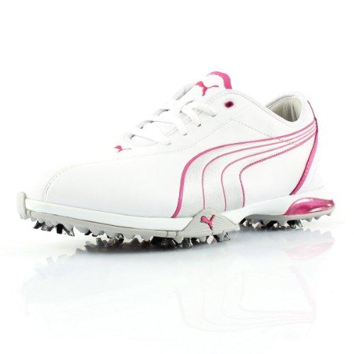 Puma, Herren Golfschuhe Weiß - weiß