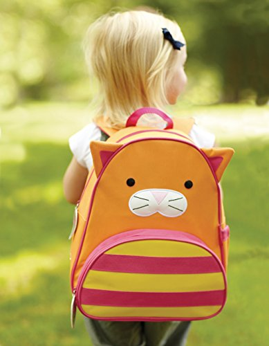 Skip Hop Zoo Little Kid and Toddler Backpack, Chase Cat