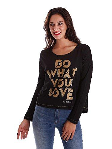 Gaudi jeans 721BD64014 Maglia Donna Nero Xl