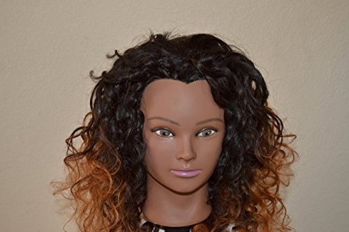 Handmade Wig - Brazilian Halfwig Body Wave Color: 1B/30 16-16-16 by Chezlilika