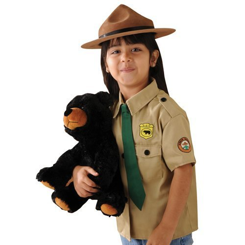 (Park Ranger Outfit for Kids Pretend Play Including a Stuffed Bear)