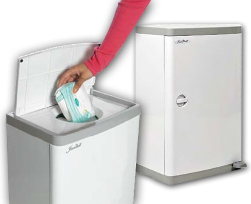 Janibell Commercial Diaper Pail - 13 Gallon Capacity - Odor Free