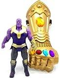 Iyaan™ Avenger Toys Set - Thanos Figure & Gauntlet Thanos Glove - Avengers Toys Thanos Action Figure & Gauntlet Set