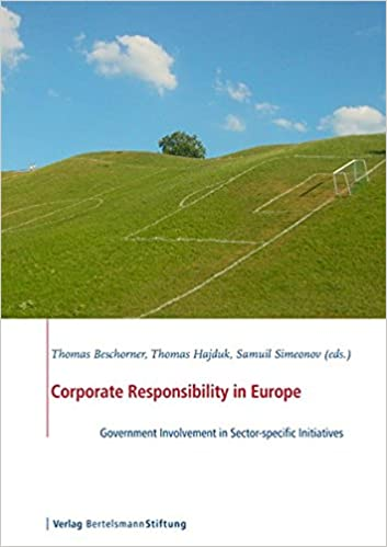 Corporate Responsibility in Europe: Government Involvement in Sector-Specific Initiatives