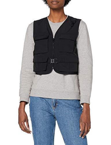 Urban Classics Ladies Short Tactical Vest dames jas/jack