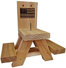 Wildlife WoodCrafts Picnic Table Feeder