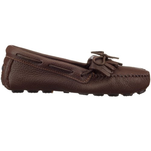 Minnetonka Women's Women's Brown Flats Loafer Minnetonka xYWP0WwZqz