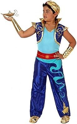Disfraz de Genio Encantado para niños en varias tallas: Amazon.es ...