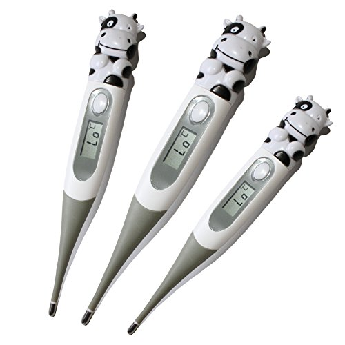 Baby Digital Thermometer - For Kids - Children Adults - Celsius Mode with LCD Display - Rectal Oral and Axillary Underarm Body Temperature Measurement - Best Soft - Flexible and Pleasant to the Touch