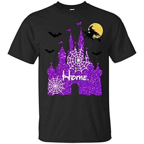 Halloween Magical Castle Glitter Shirt - Magical Glitter