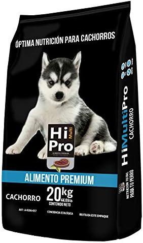 Hi Multipro Alimento Premium Cachorro 20 Kilos, 100% Balance Nutricional. con probióticos, Calcio y Proteínas de Alto Valor biológico 2