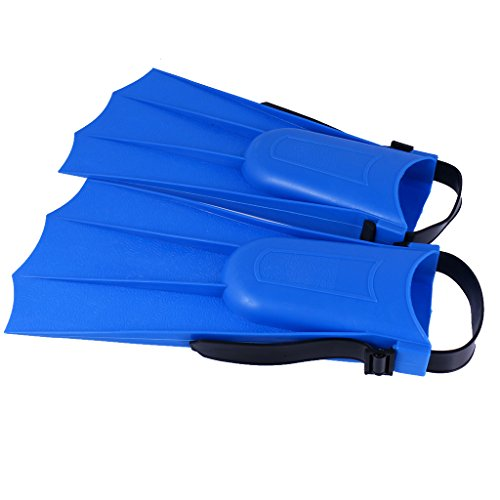 MagiDeal Kids Adults Adjustable Flippers Fins Swimming Diving Learning Tools Blue/ Pink/ Green