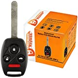 Discount Keyless Replacement Uncut Car Entry Remote Fob Key Combo For Honda Accord OUCG8D-380H-A