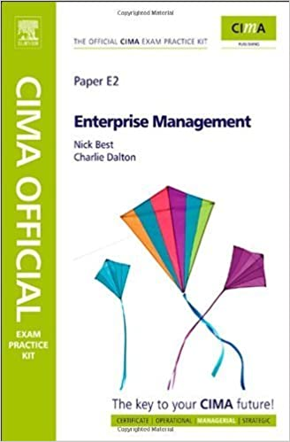 Book CIMA Official Exam Practice Kit Enterprise Management by Charlie Dalton (2009-08-12)