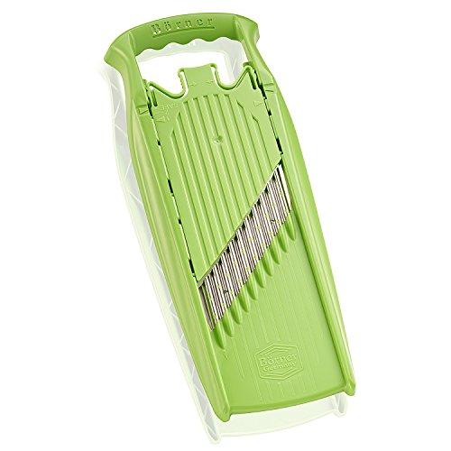 Börner Gemüseschneider Welle-Waffel PowerLine (grün) - BPA frei