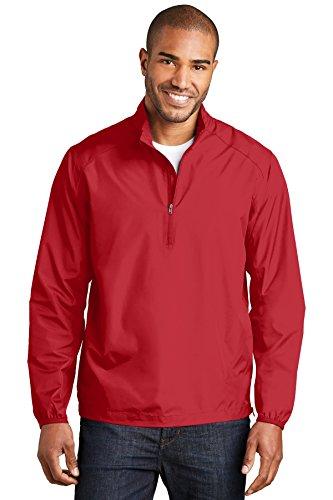 Performance 1/2 Zip Pullover Jacket - Port Authority Zephyr 1/2-Zip Pullover. J343 Rich Red