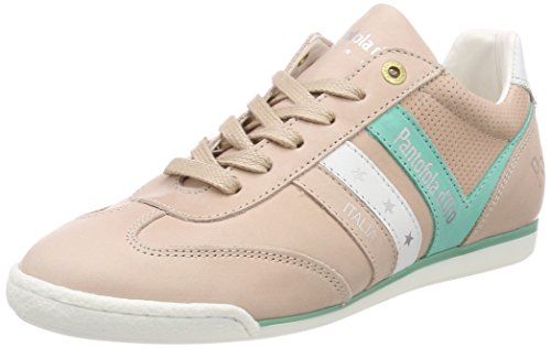 Trainers Pink Nude Women's Donne d'Oro Vasto Pantofola Low PxRXSqznwH