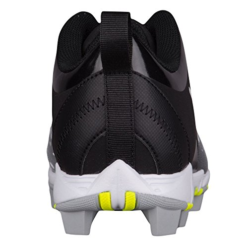 Tacchetta Da Soft Key Nike Womens Hyperdiamond 2 Nero / Bianco / Grigio Lupo