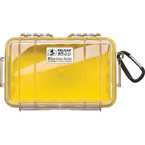 Micro Case Yellow/Clear 7-1/2x5.06x2.12