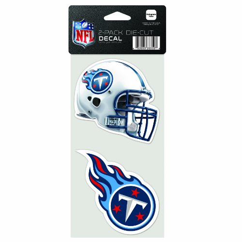 NFL Tennessee Titans 2-Piece Die-Cut Decal, 4