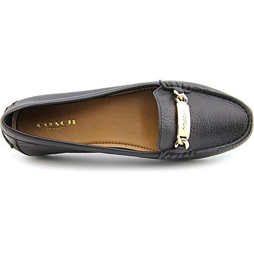 Coach Olive Black Pebble Grain Leather bK64L6Ni0