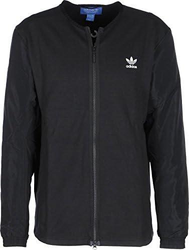 Originals Black Trefoil Logo Bomber Jacket