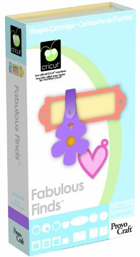 Cricut Cartridge, Fabulous Finds (Craft Inks Provo Cricut)