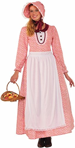 Forum Novelties Women's Pioneer Woman Costume, Multi-Color, One -