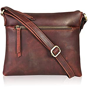 Leather Purses and Handbags for Women- Stylish Women's Crossbody/Shoulder Handbags