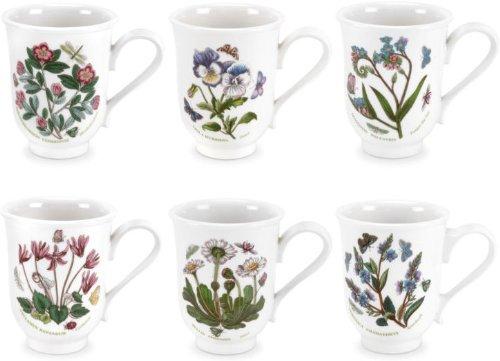 Portmeirion Botanic Garden Bell Beakers/English Mugs (Set of (Beaker English Mug)