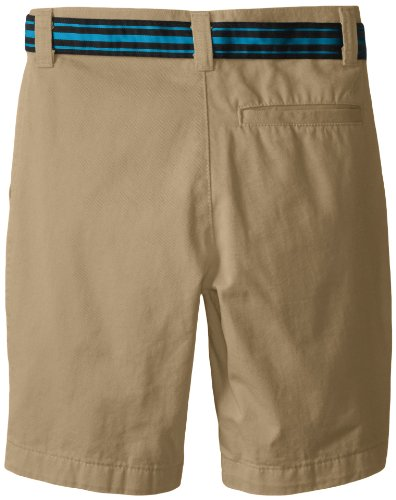 Nautica Boys 8-20 Belted Flat Front Short