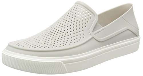 crocs Women's Citilane Roka Slip-On W , Pearl White, 8 M US
