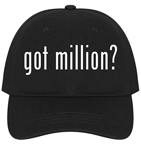 The Town Butler got Million? - A Nice Comfortable Adjustable Dad Hat Cap, Black