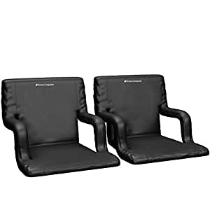Amazon Com Wide Stadium Seats Chairs For Bleachers Or