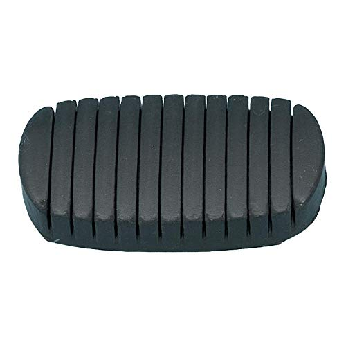 Eckler's Premier Quality Products 57132309 Chevy Clutch Or NonPower Brake Pedal Pad