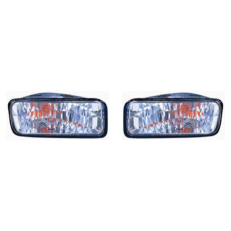 Chevrolet Camaro 85-1992 Parking Signal Driver and Passenger Side Lamp DIAMOND GM2522116 1992 Signal Lamp