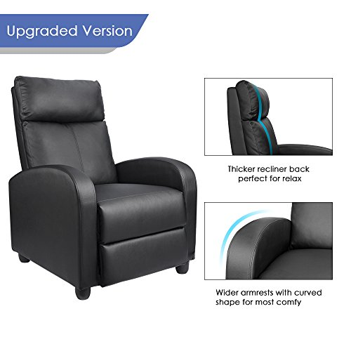 Homall Single Recliner Recliner Home Theater Seating