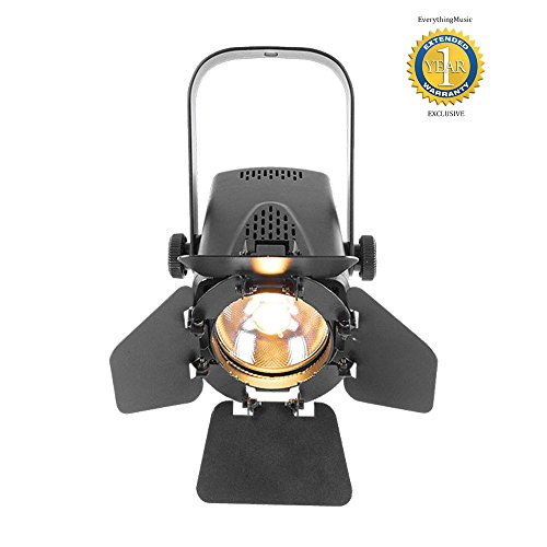 Chauvet DJ EVE TF-20 EVE Track Fresnel Soft Edge LED Accent Luminaire with 1 Year Free Extended (Elation Light)
