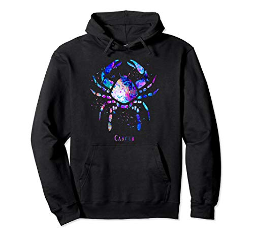 Cancer Zodiac Sign Pullover Hoodie