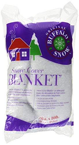 Buffalo Batting CB2351 Snow Cover Blanket 15in.x10ft. 1/Pkg]()