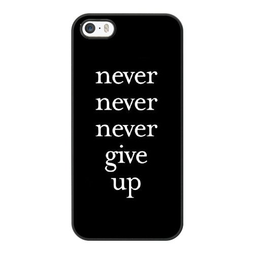 Coque,Coque iphone 5 5S SE Case Coque, Failure Is Not An Option Cover For Coque iphone 5 5S SE Cell Phone Case Cover Noir