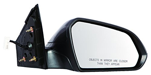Depo 321-5411R3EBH Heated Mirror (HYUNDAI SONATA 15 POWER HEATED WITHOUT SIGNAL PASSENGER SIDE PAINT TO MATCH)