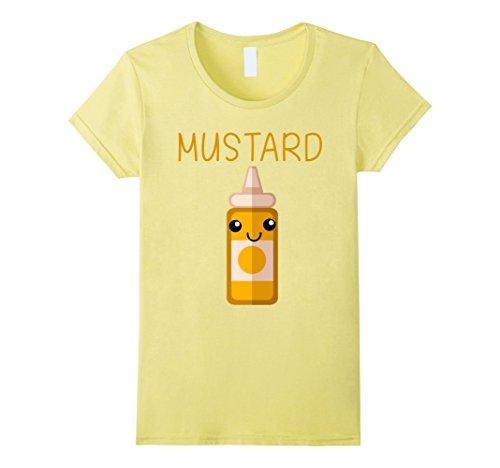 Womens I'm A Mustard T-shirt Family Matching Shirtst Small Lemon