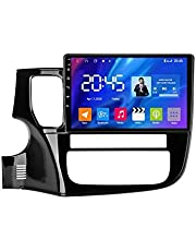 Android 10.0 Auto Stereo Sat Nav Radio voor Mitsubishi Outlander 3 2012-2018 GPS Navigatie 9 '' Head Unit Touchscreen MP5 Multimedia speler Video-ontvanger met 4G WiFi SWC Carplay