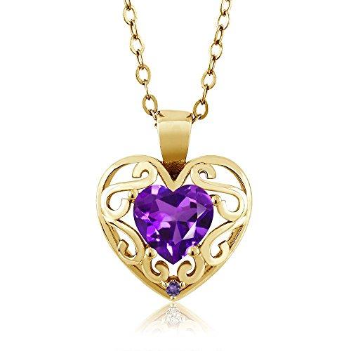 0.75 Ct Heart - 2