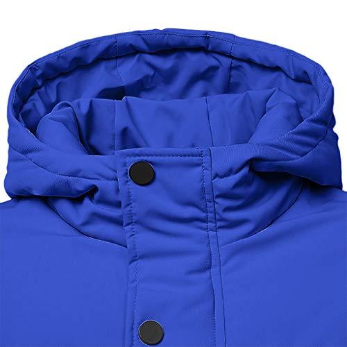 Challenge Maniche Cappotti Parka Giacche Lunghe Men Pullover Moto Da Inverno Giubbotto Top Giacca Eleganti Invernale Jacket Autunno Giubbini A Uomo Cappotto Blu E v6wrvP0Xxq