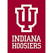 """NEW! Indiana Hoosiers Blanket for a Blanket - 50"""" x 70"""" - BUY 1 GIVE 1 (Memorial Day, Father's Day, Father, Dad, Graduation, IU, Gift, Present, Birthday, Anniversary, Throw, Prime, Soft, Cozy)"""